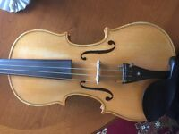 Hand made 4/4 Violin.