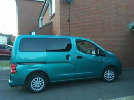 Nissan NV200 Wheelchair Accessible MPV WAV. Constables Conversion