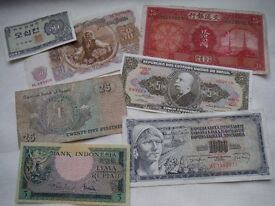 Selection of Foreign Bank notes