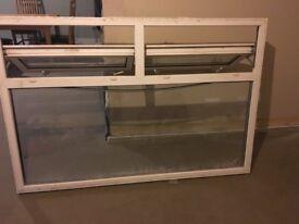 2X Double Glazed Windows