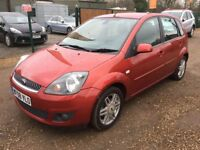 2008 FORD FIESTA GHIA 1.6 AUTO PETROL -LEATHER- LOW MILAGE