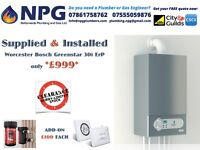 LIMITED OFFER * WORCESTER GREENSTAR 30i ErP Combi Condensing Boiler* CALL NOW * EARLY WINTER OFFER*