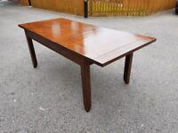 Willis & Gambier Solid Hardwood Extending Table FREE DELIVERY 209