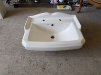 Victorian Sink with Pedestal and Taps
