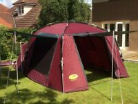 Khyam ridgi-dome 4 berth tent.