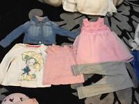 Girls summer bundle 12-18months
