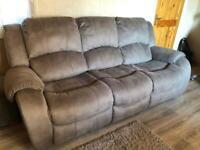 Pair of Darwin Sofa 3 Seater & 2 Seater Grey sofa's