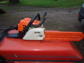 Stihl MS181 petrol chainsaw in excellent condition Postage available