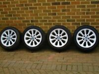 Set of 4 BMW 1 series 17 inch Alloy Wheels
