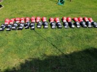 16 pairs of Lonsdale boxing gloves. Brilliant for bootcamps.