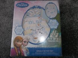 Olaf single bed set BRAND NEW