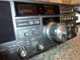 Yaesu FRG - 7700 Shortwave Receiver