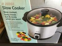 Judge Slow Cooker 3.5 litre unused still in box