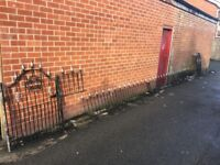 Full House Of Galvanised Gates & Railings / Wall Toppers Can Deliver / W-R