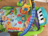 Piano play mat.