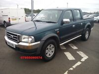ford ranger xlt 4x4 turbo diesel double cab manual 2003 03 plate