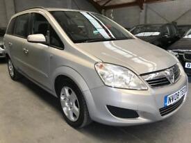 Vauxhall Zafira Exclusiv 1.6 2008 ✿ Full MOT ✿ FSH ✿