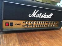 Marshall JVM 410h 100watts with 1960 lead cab 300watts