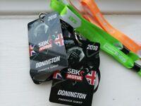 2 tickets World Superbike Championship Donington Park 25/26/27 May
