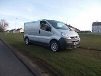 2003 VAUXHALL VIVARO 1.9 DIESEL 6 SPEED FULL YEARS PSV