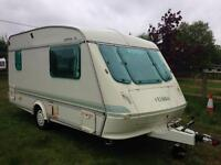 Elddis mistral XL 2 birth 1991 with moter mover