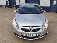 2009 Vauxhall Corsa 1.2 Petrol 62000 miles 1year MOT FSH drives great mint condition