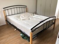Three double bed and the mattress for sale