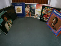 job lot of vinyl records/Lps/box collections/singles/12 inches