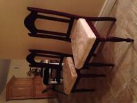 Dining chairs...