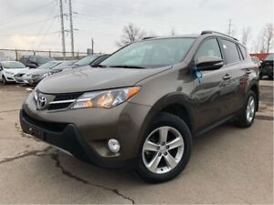 2014 Toyota RAV4 XLE AWD MOON ROOF BACK UP CAMERA