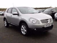 2010 nissan qashqai 1.5 dci low miles, motd jan 2018, full history all cards welcome