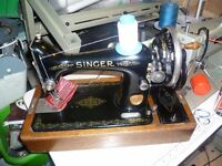 Singer 99k SEMI-INDUSTRIAL Handcrank Sewing Machine