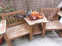 """HUSQVARNA 365 SPECIAL CHAINSAW WITH 18"""" BAR AND GOOD CHAIN"""
