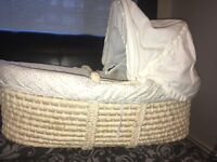 Moses Basket for Sale!