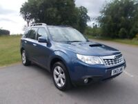 2012 12 SUBARU FORESTER XC BOXER 2.0 TD DIESEL 4X4 CALL 07791629657 IN LOVELY METALLIC BLUE