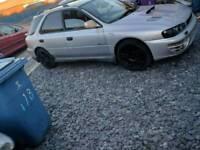 Subaru wrx turbo wagon 2000