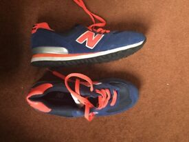 New balance trainers shoes size 6 new