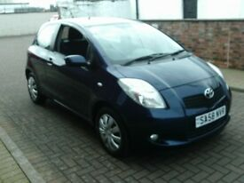 2008 58 TOYOTA YARIS 1.3 T3 3DOOR SEMI AUTOMATIC ** ONLY 43500 MILES ** 12 MONTH MOT **