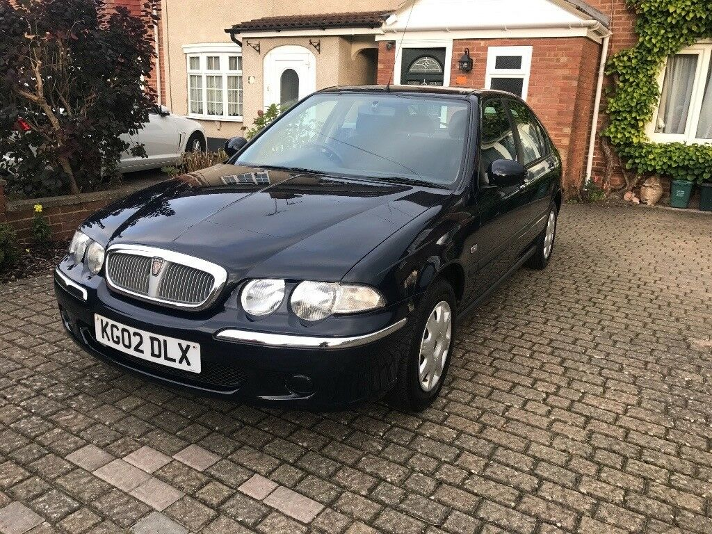 2002 Rover 45 Impression 1.4 in Dark Blue