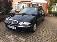 2002 Rover 45 Impression 1.4 in Dark Blue