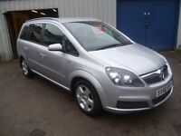 Vauxhall ZAFIRA,1796 cc 7 seat MPV,great family car,runs and drives well,well looked after