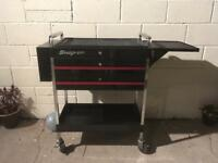 Snap on tool trolly