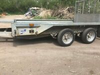 IFOR WILLIAMS GX106 3.5T PLANT TRAILER