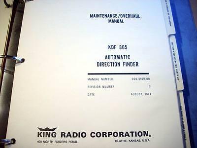 King   KDF 805 ADF Service manual
