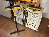 2 x triton roller stands new