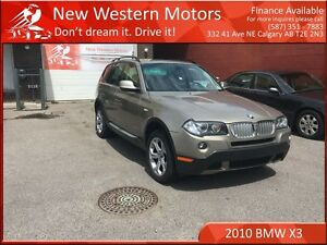 2010 BMW X3 xDrive30i Leather/Pana Roof