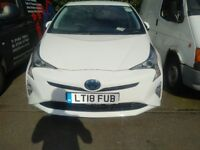 Brand New 2018 Toyota Prius Rent from £170.00 PW ( limited stock)
