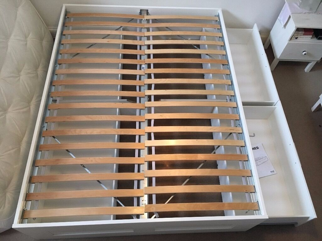 Ikea King Size bed frame Ikea Brimnes 1yr old in Clapham, London Gumtree