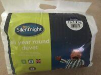 Single duvet- 10.5 tog silentnight
