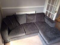 Dark Green Corner Sofa